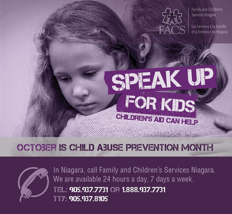 October is Child Abuse Prevention Month