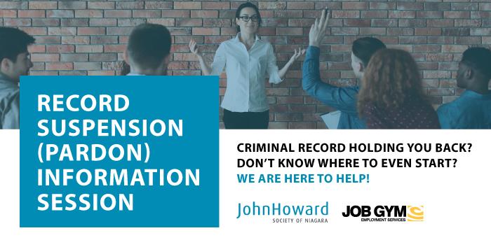 Record Suspension (Pardon) Information Session